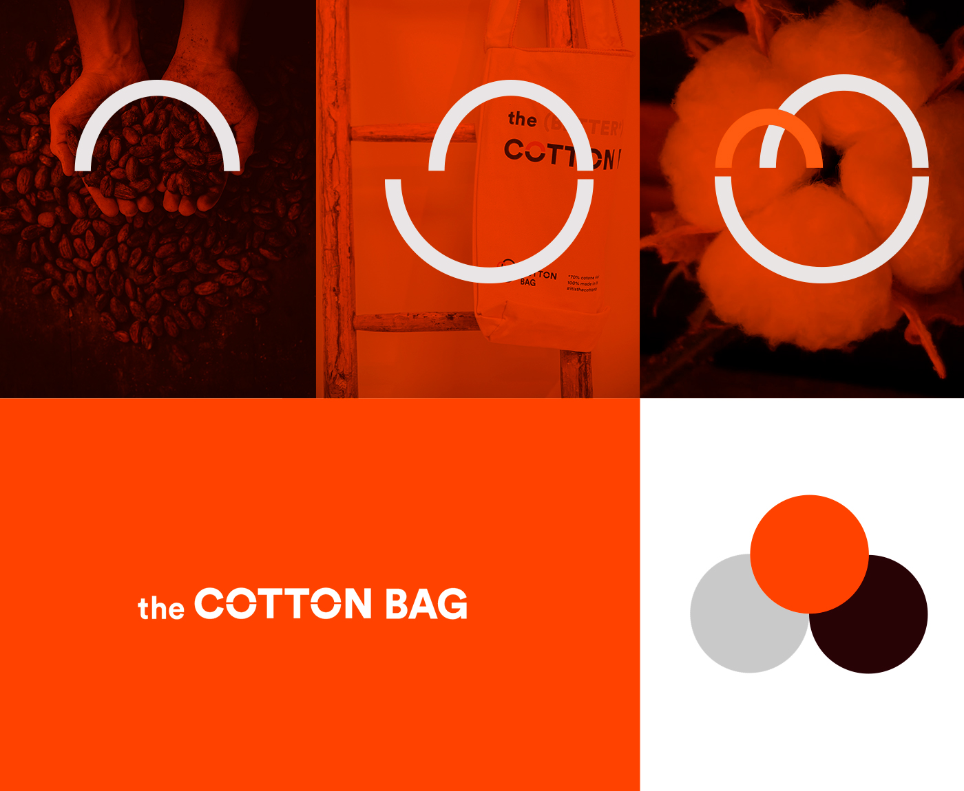 The Cotton Bag - visual identity