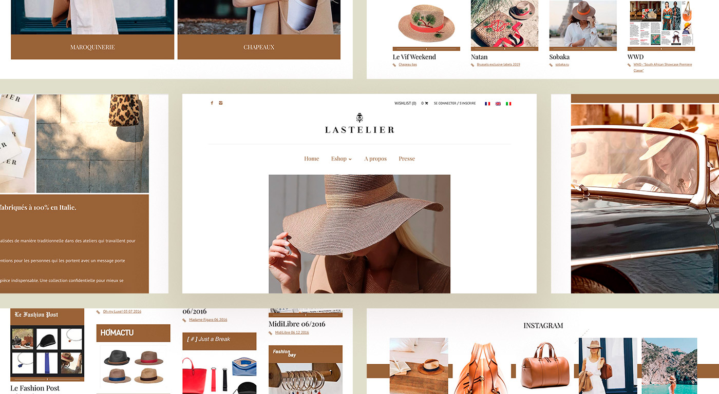 Lastelier website