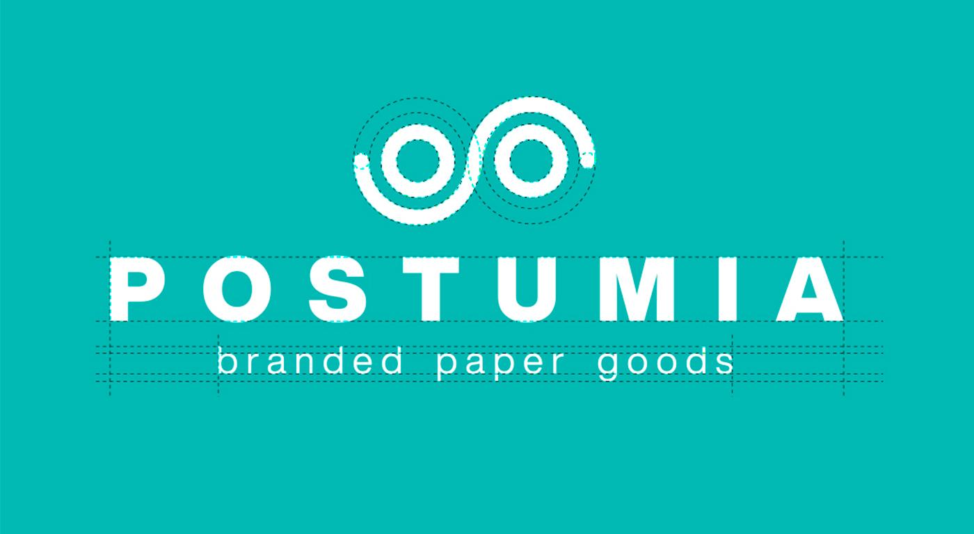 Postumia logo design