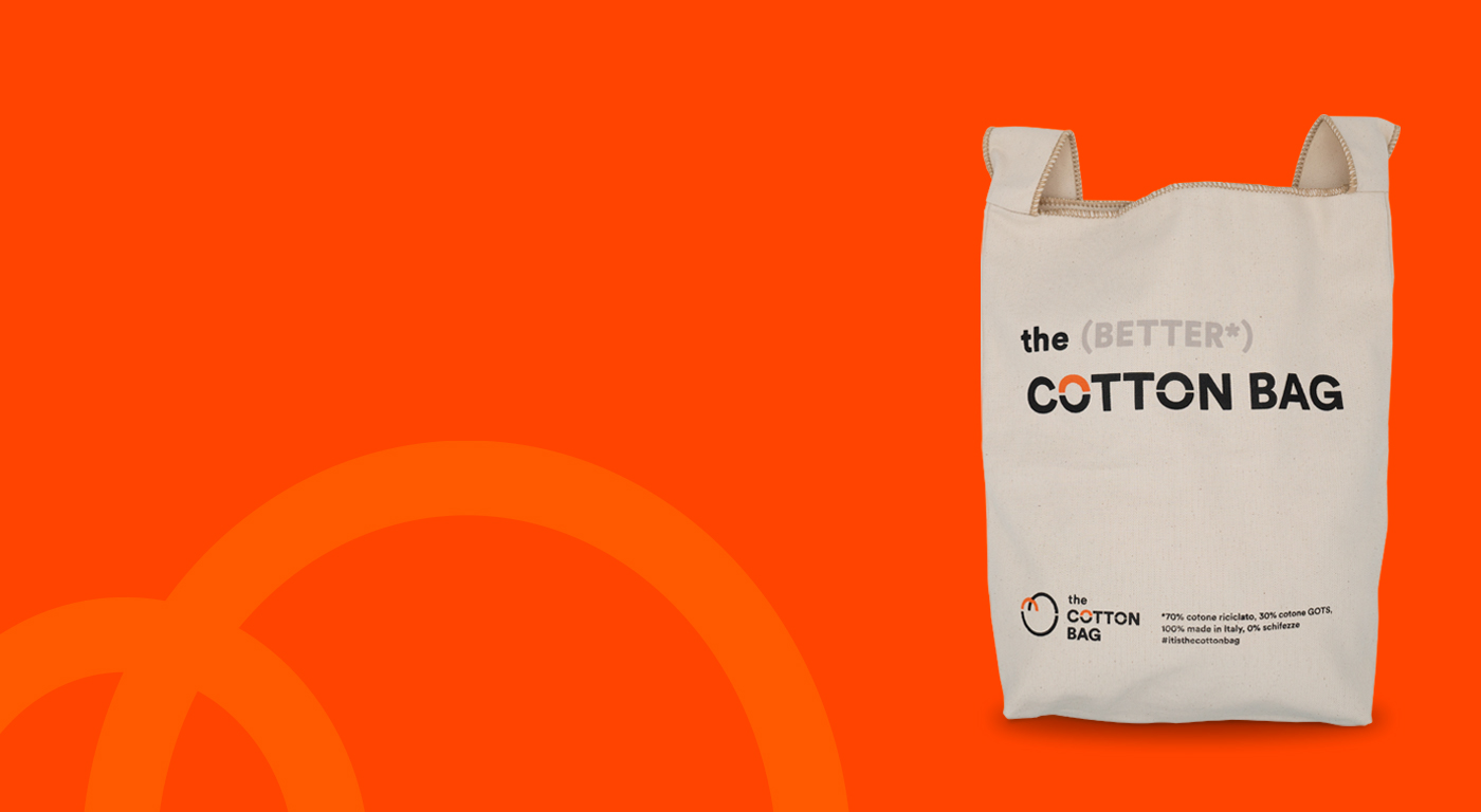 The Cotton Bag - borsa per la spesa