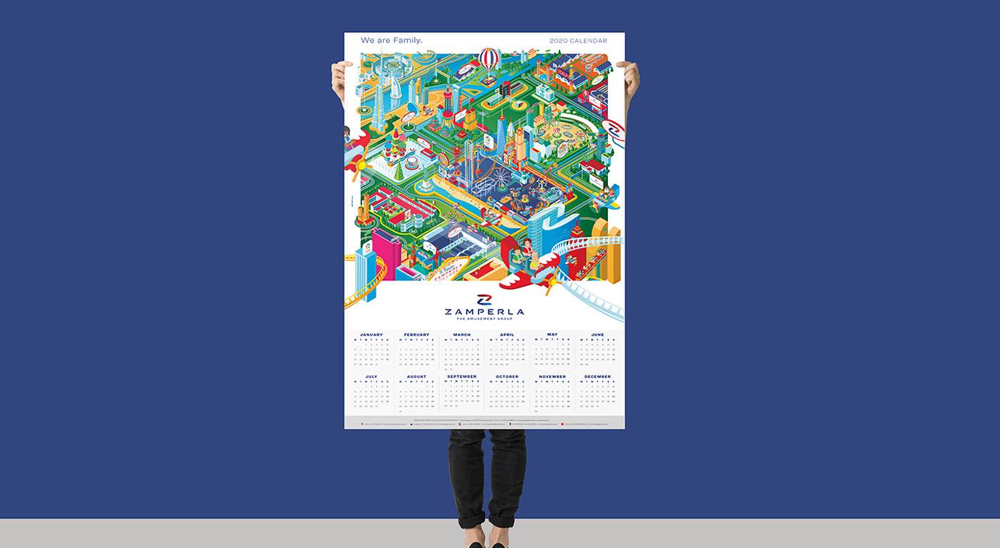 Zamperla calendario