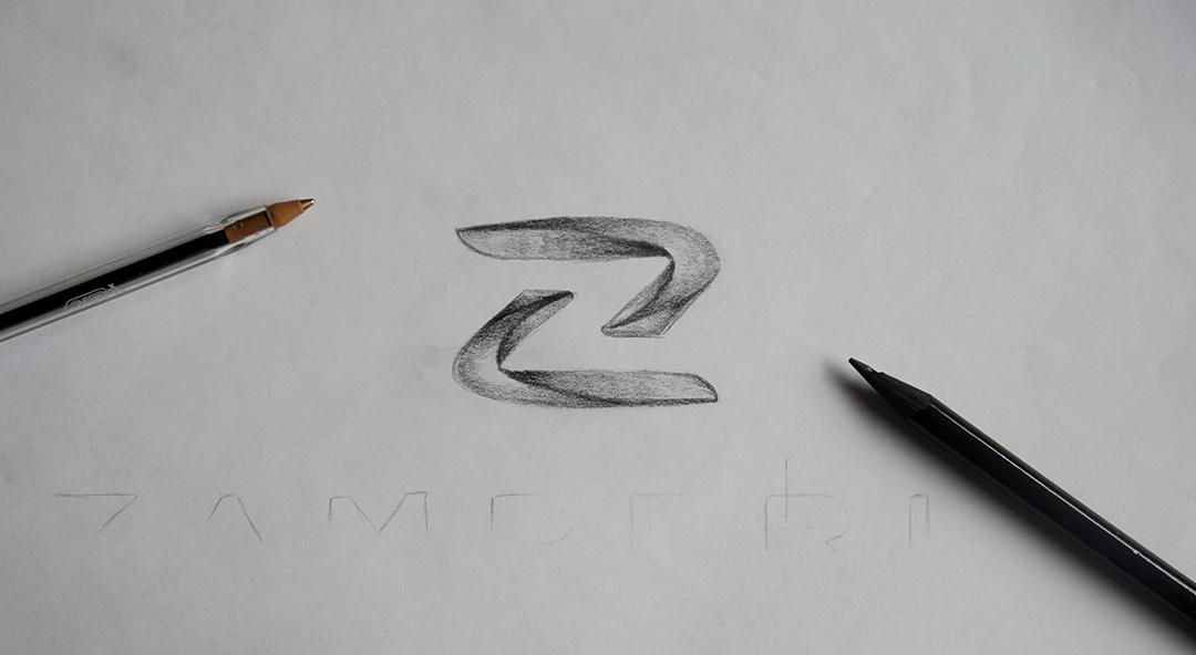 Zamperla logo design