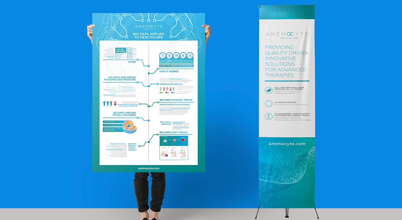 Anemocyte poster e banner