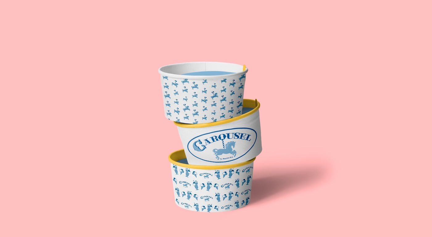 Carousel coppette gelato