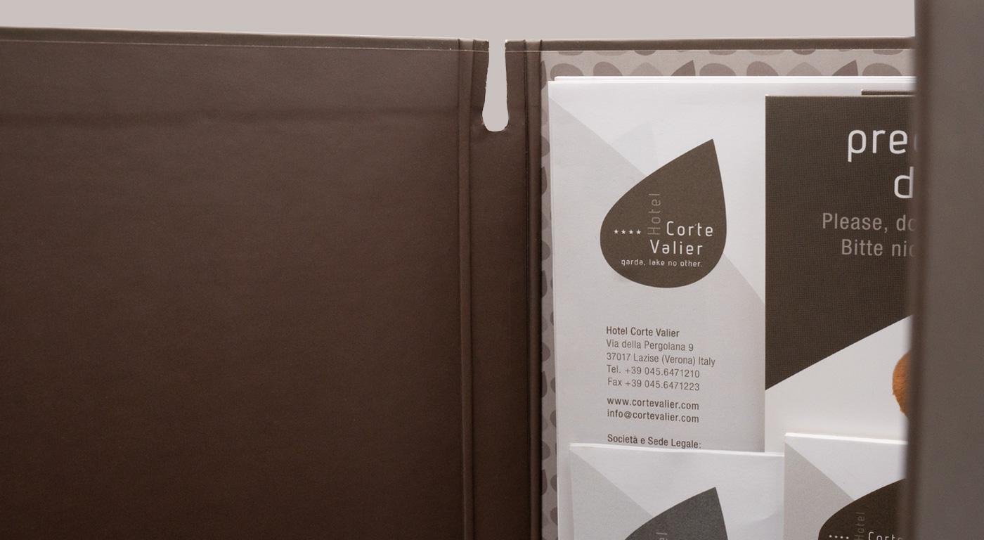 Hotel Corte Valier - cartellina