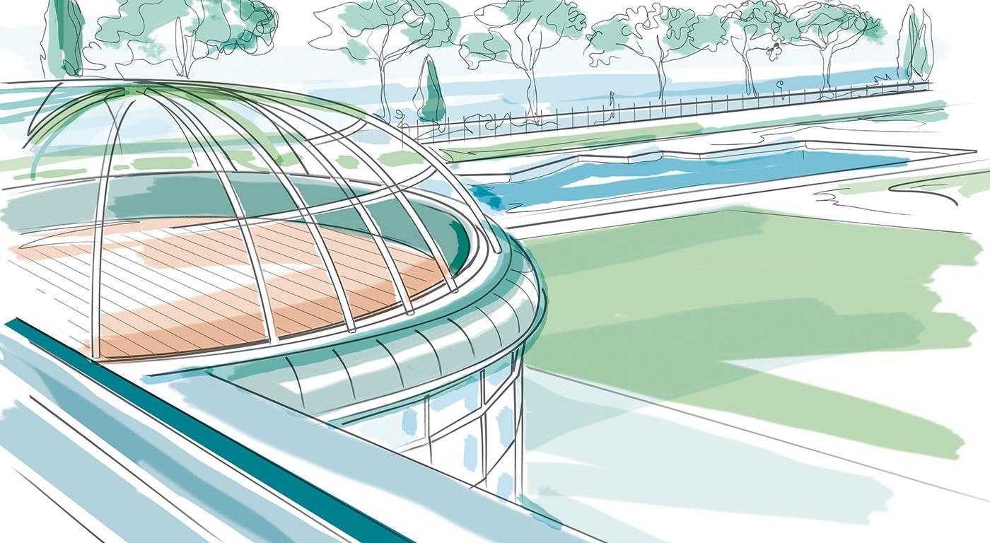 Hotel Corte Valier - illustrazione