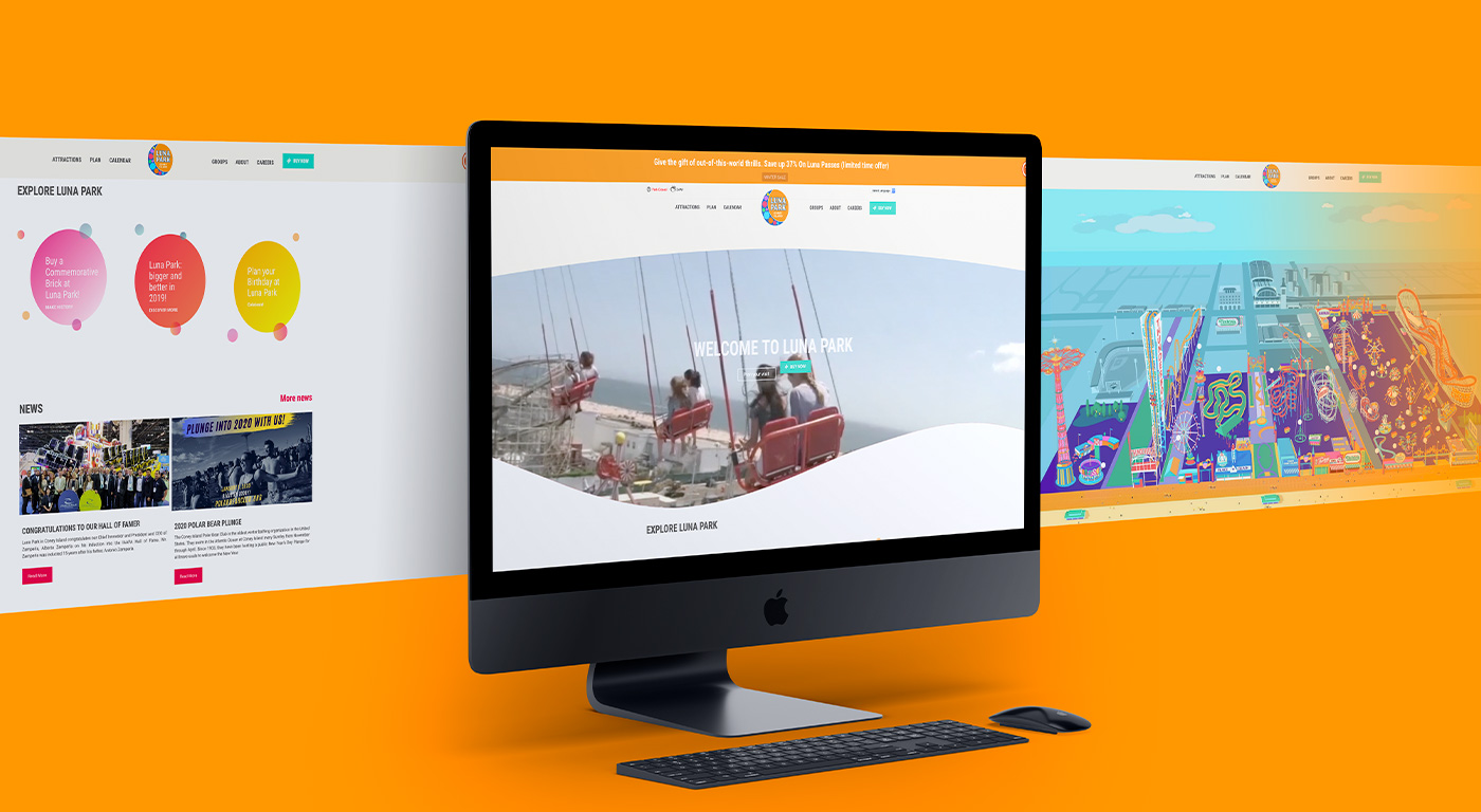 Luna park website