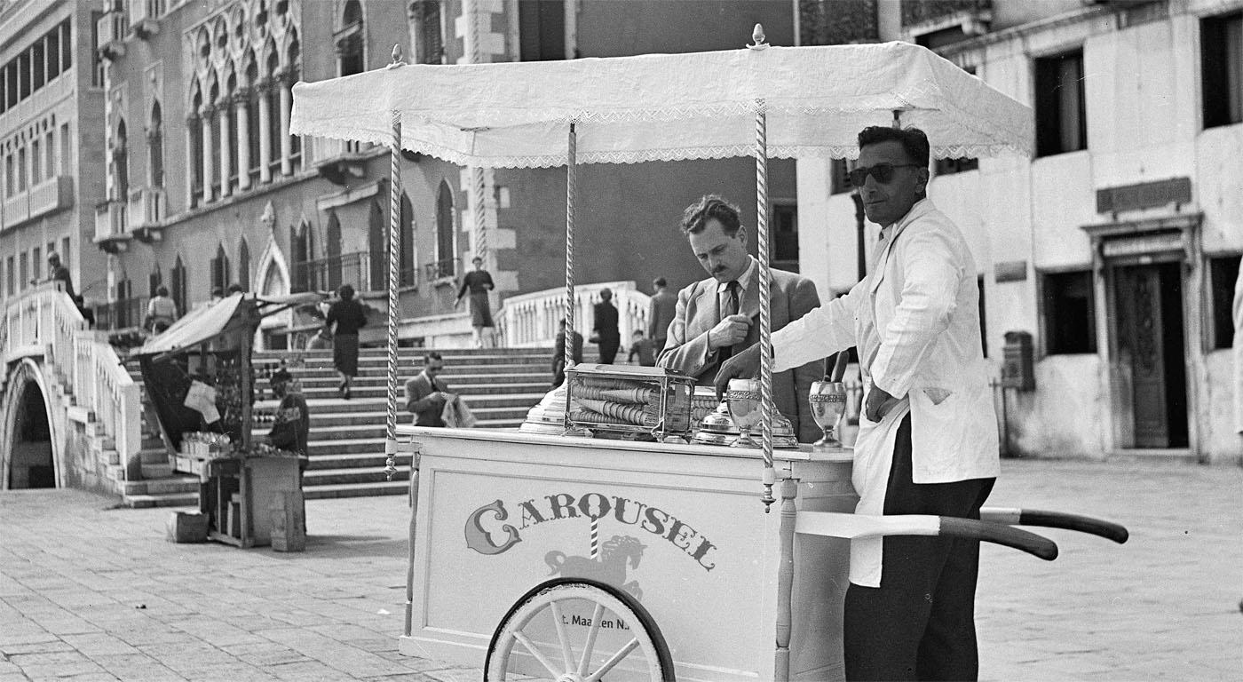 Carousel vintage shooting