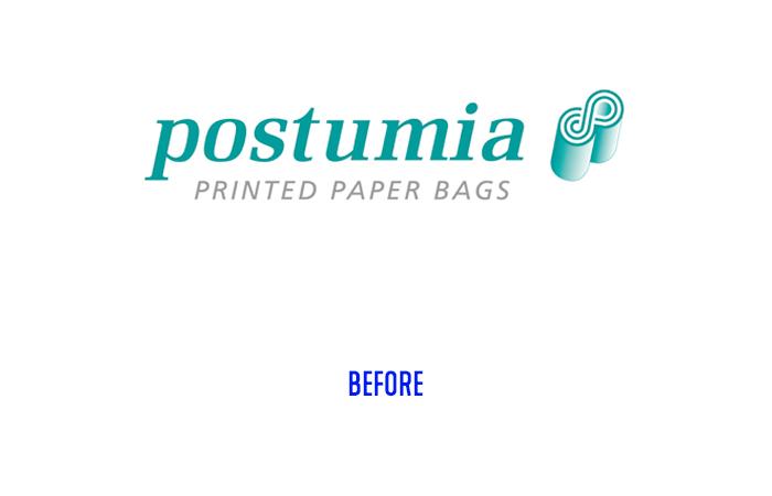 Postumia logo before