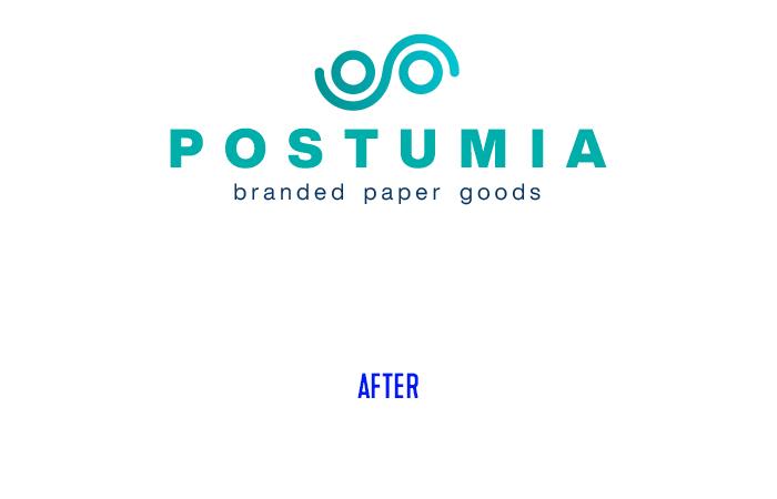 Postumia logo restyling