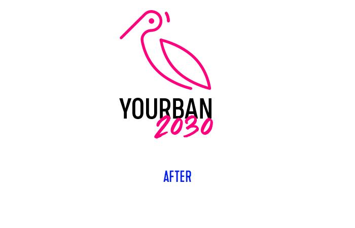 Yourban 2030 logo restyling