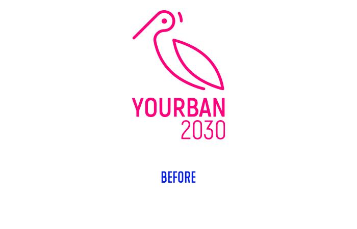 Yourban 2030 logo before
