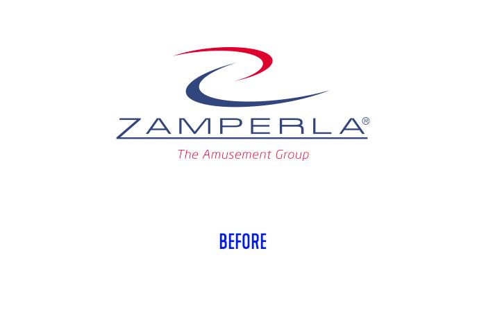 Zamperla logo before