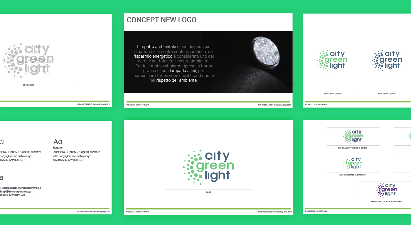 City Green Light corporate identity