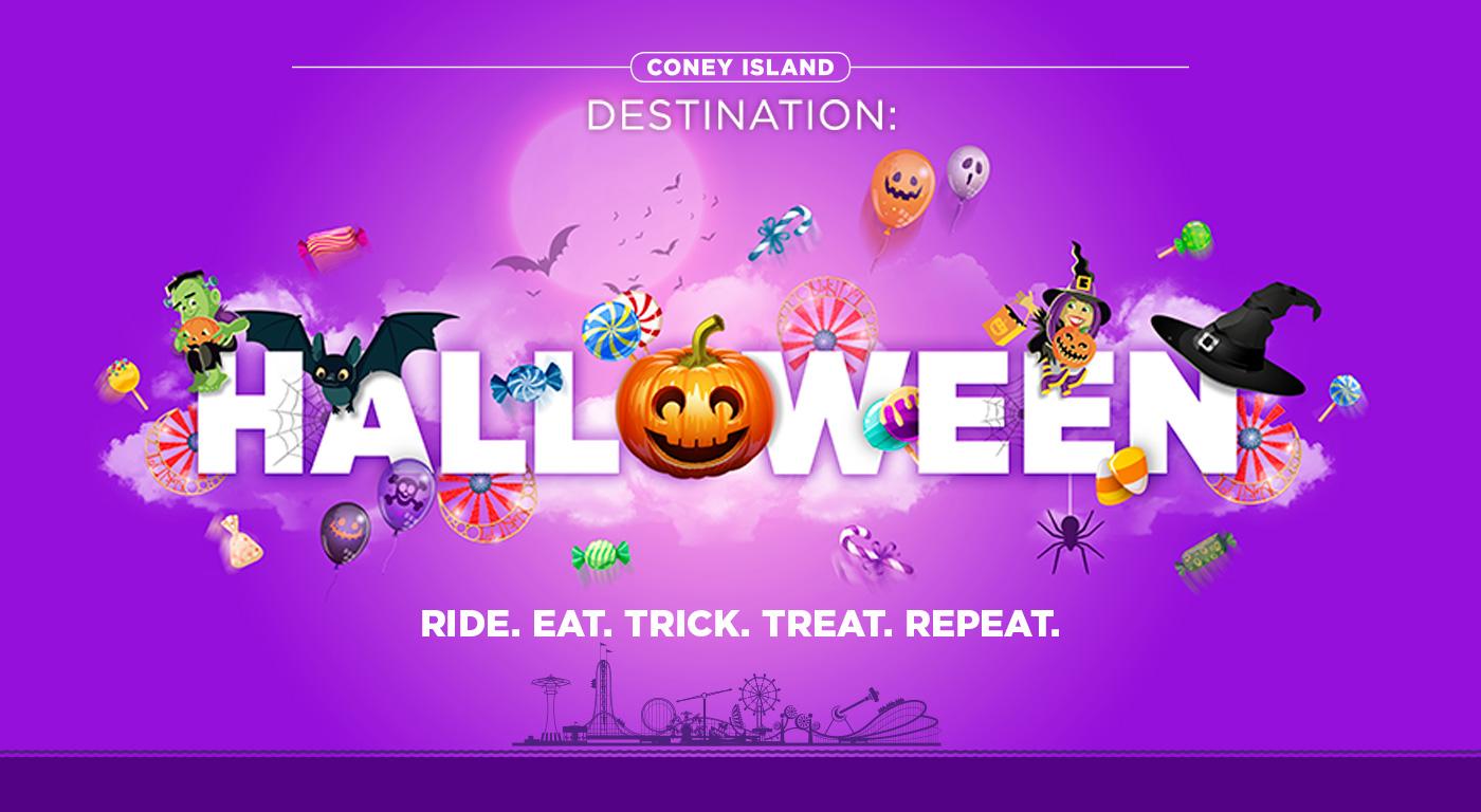 Luna Park - Coney Island destination: Halloween