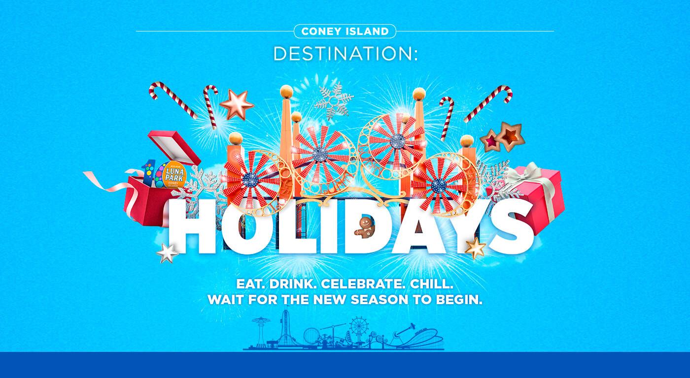 Luna Park - Coney Island destination: Holidays