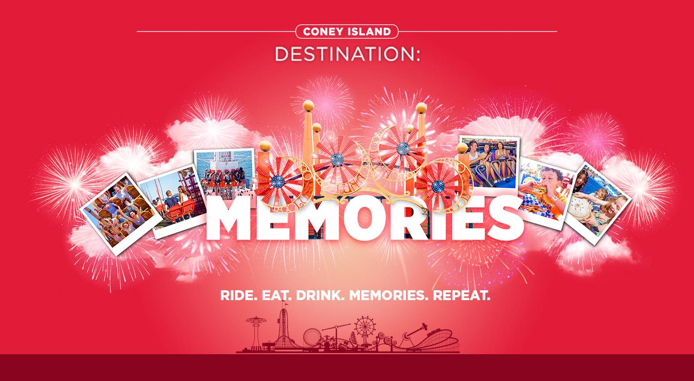 Luna Park - Coney Island destination: Memories