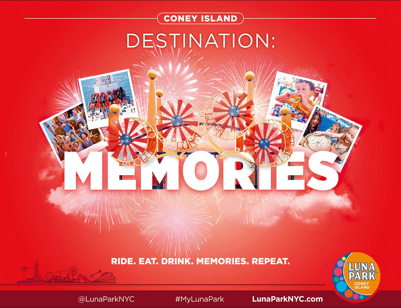 Adv Luna Park - Coney Island Destination: Memories