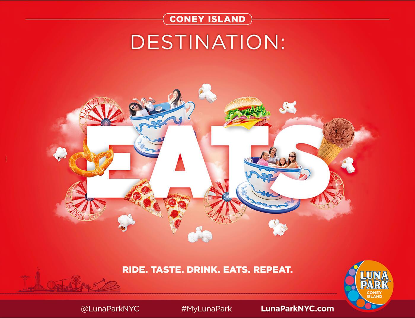 Adv Luna Park - Coney Island Destination: Eats