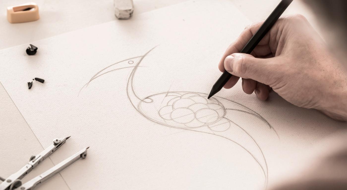 sketch label design Cavazza
