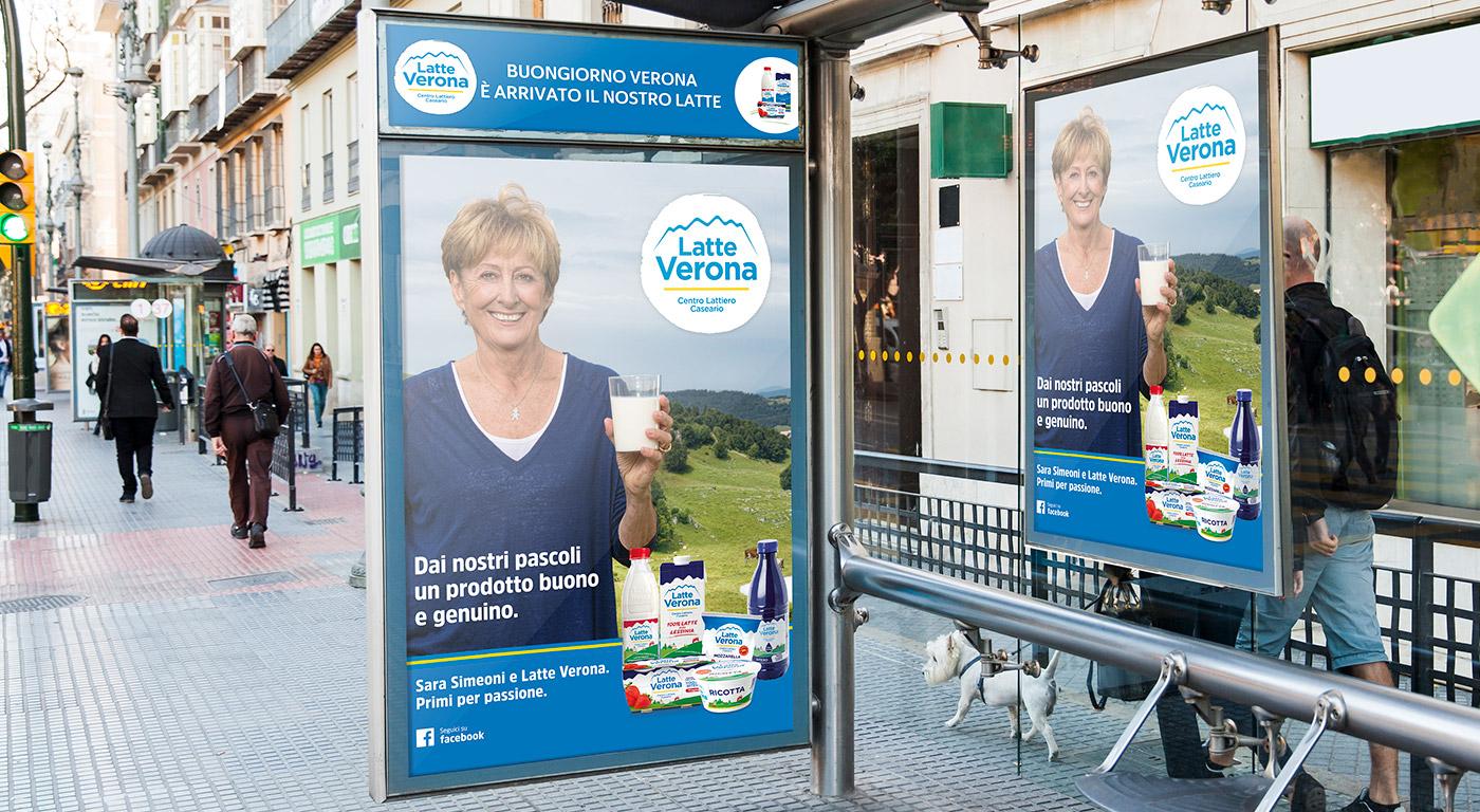 Campagna adv Latte Verona