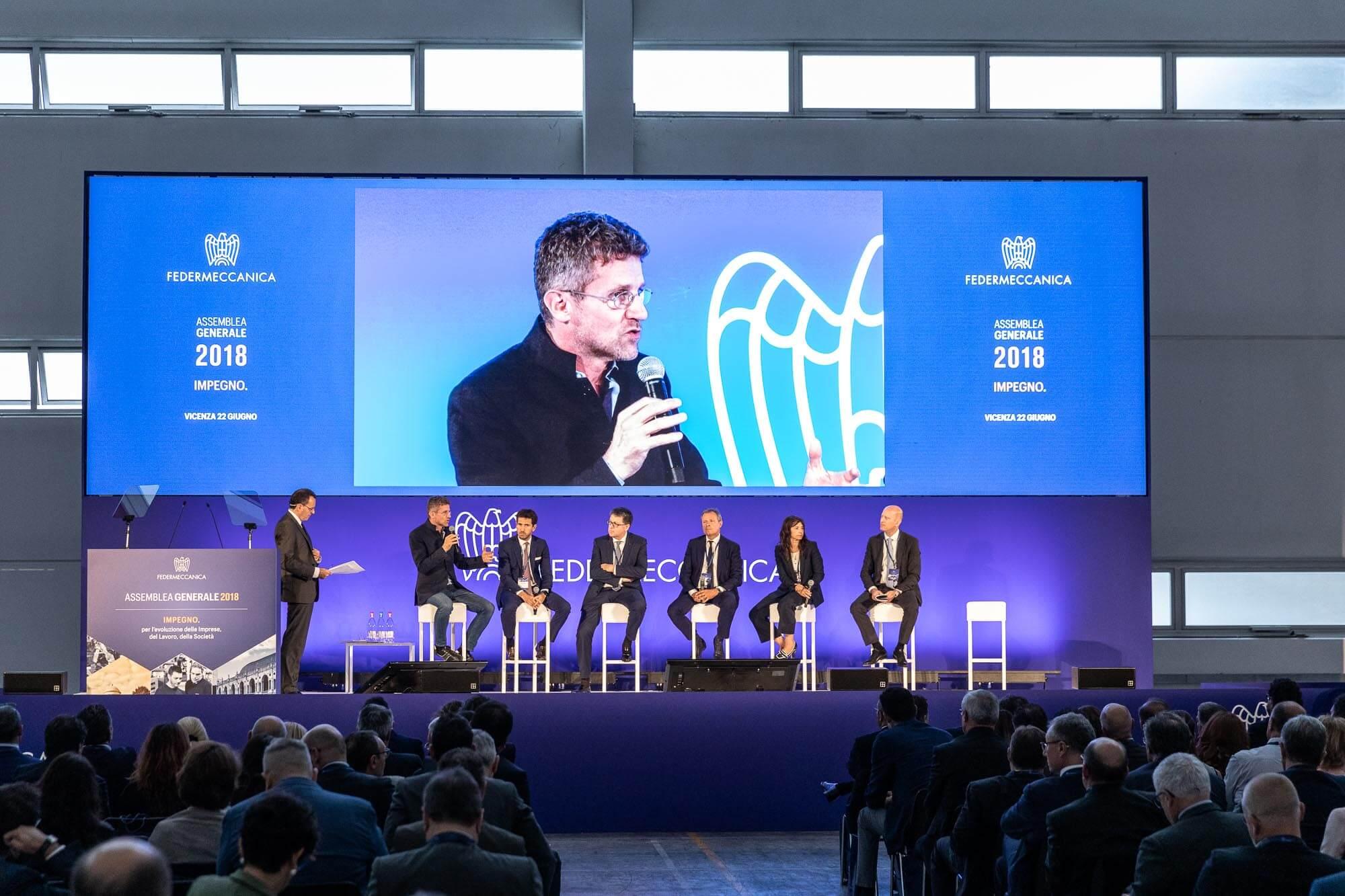 Assemblea generale 2018 Federmeccanica - evento on stage
