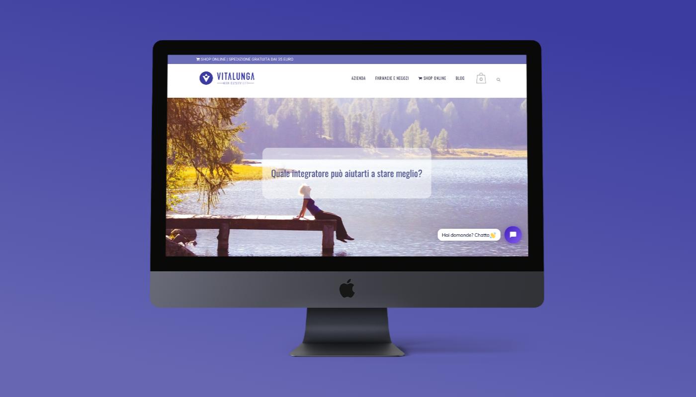 vitalunga.it website