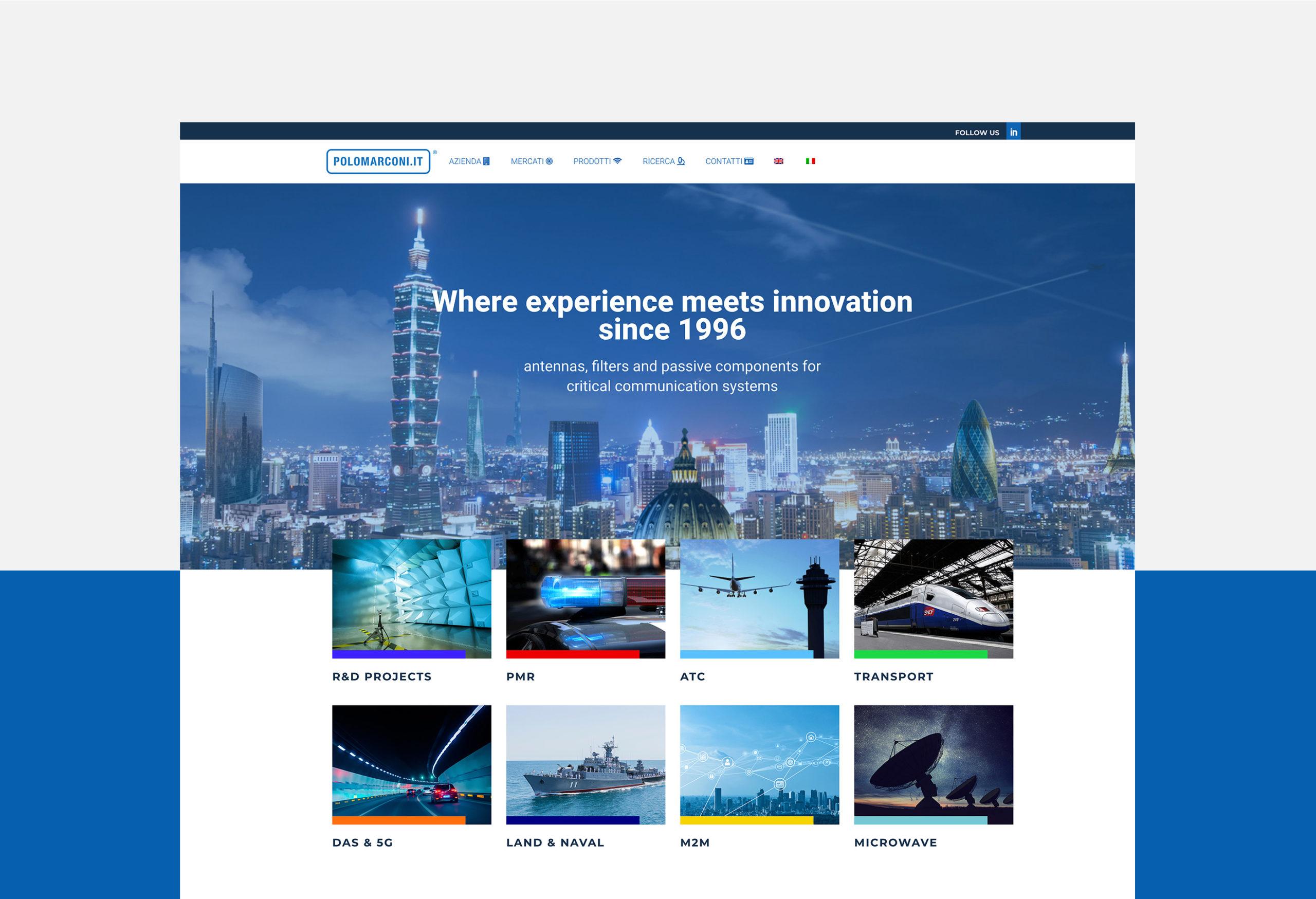 Homepage POLOMARCONI.IT