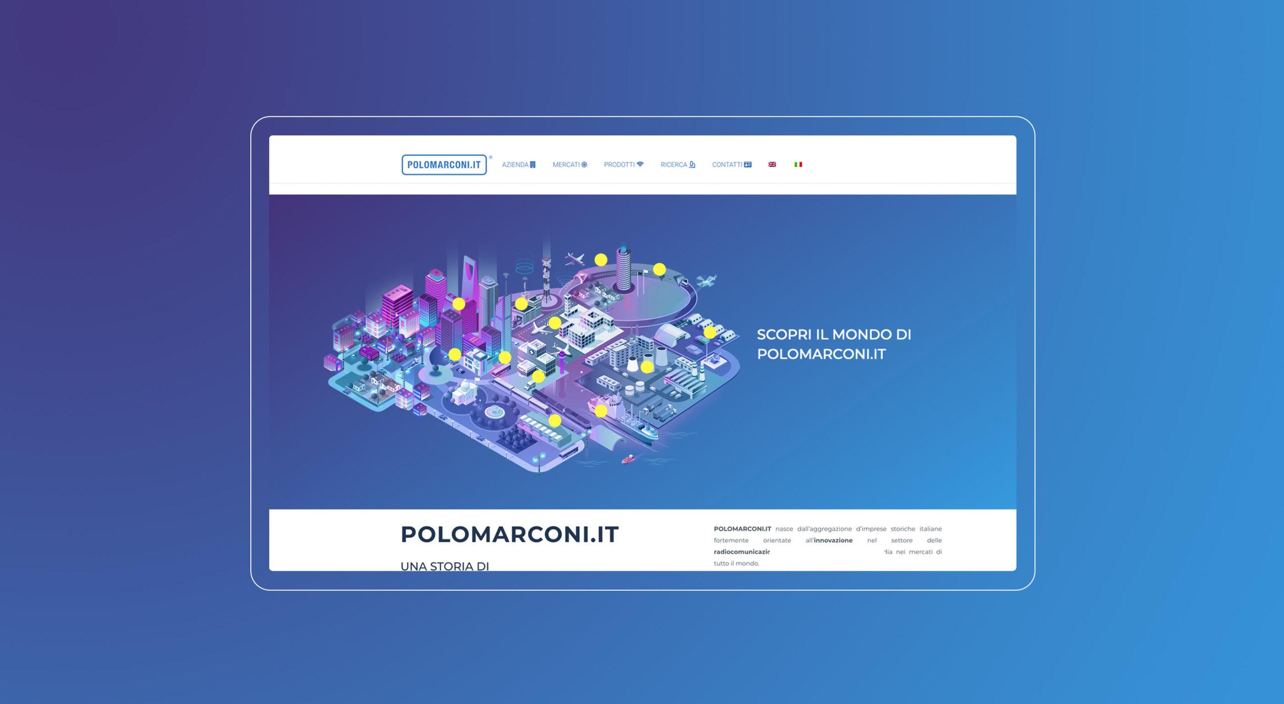 POLOMARCONI.IT mappa interattiva