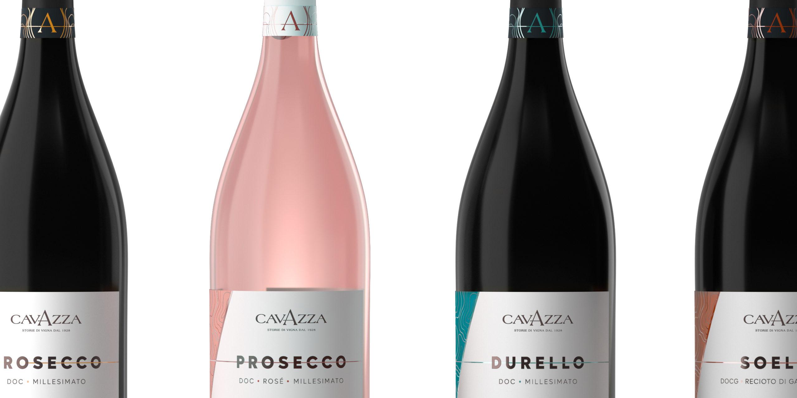 Etichette spumanti Cavazza Closeup