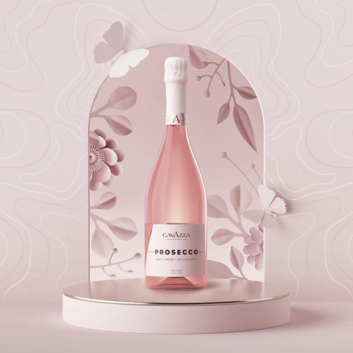Visual Prosecco Rosè Cavazza